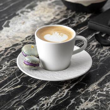 Manufacture Rock blanc Set de petit-déjeuner