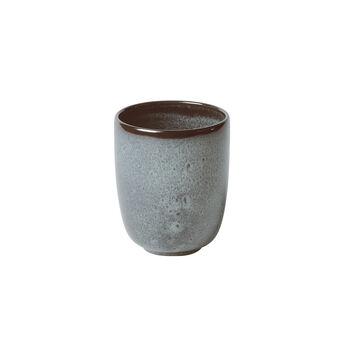 Lave Glacé mug sans anse, turquoise, 9x9x10,5cm, 400ml