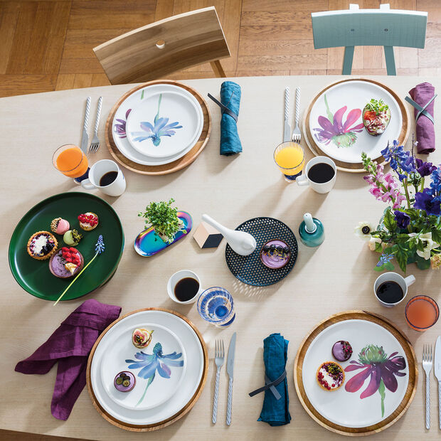 Artesano Flower Art assiette plate, , large