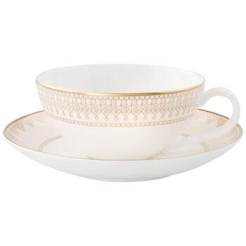 Samarkand Tasse à thé avec soucoupe 2pcs