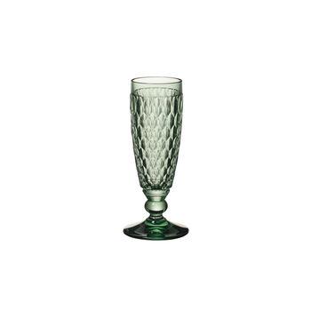 Flûte à champagne Green Boston Coloured