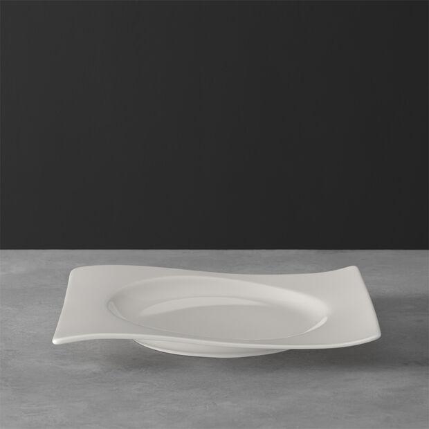 NewWave assiette à dessert rectangulaire 24x22cm, , large