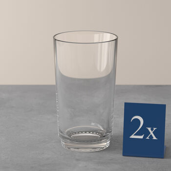 like. By Villeroy & Boch it's my match ensemble de verres à long drink, transparents, 8x14cm, 2pièces