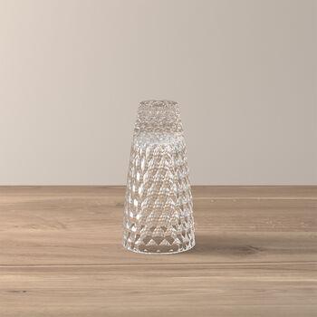 Boston bougeoir et vase, petit modèle, 16cm