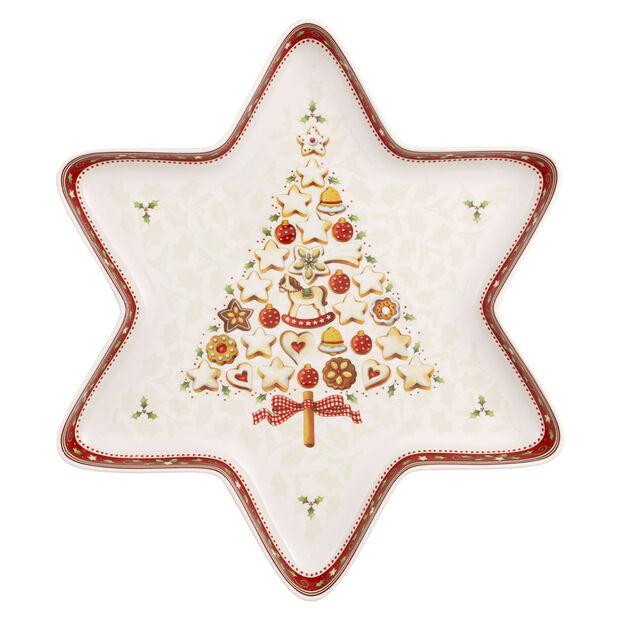 Winter Bakery Delight grande coupe en forme d'étoile, , large