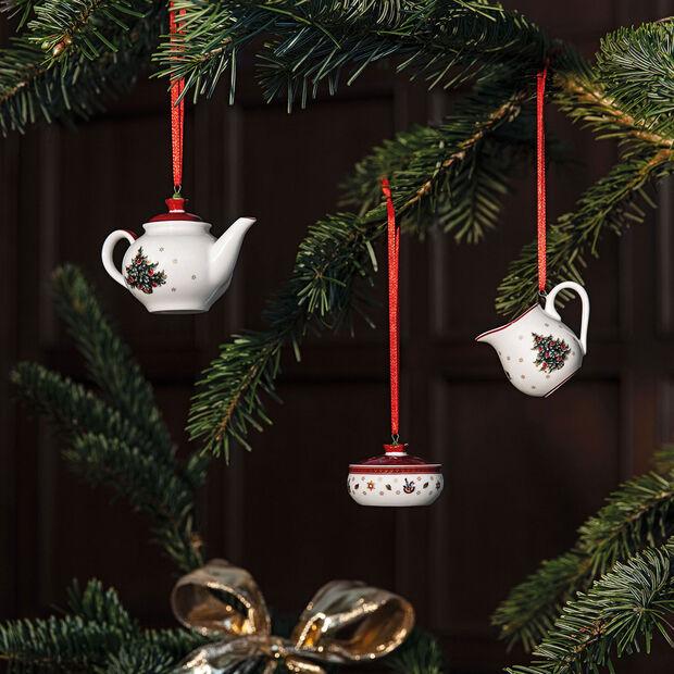 Toy's Delight Decoration Ornements, ensemble à café, 3 pièces 6,3cm, , large
