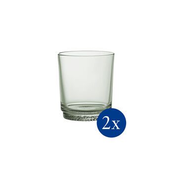 like. By Villeroy & Boch it's my match ensemble de verres à eau mineral, vert, 9x10cm, 2pièces