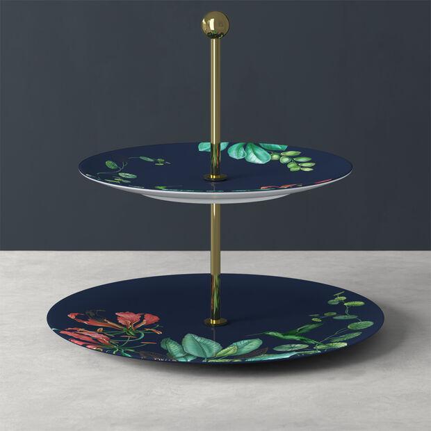 Avarua Gifts présentoir, 27,5x26,7cm, bleu/multicolore, , large
