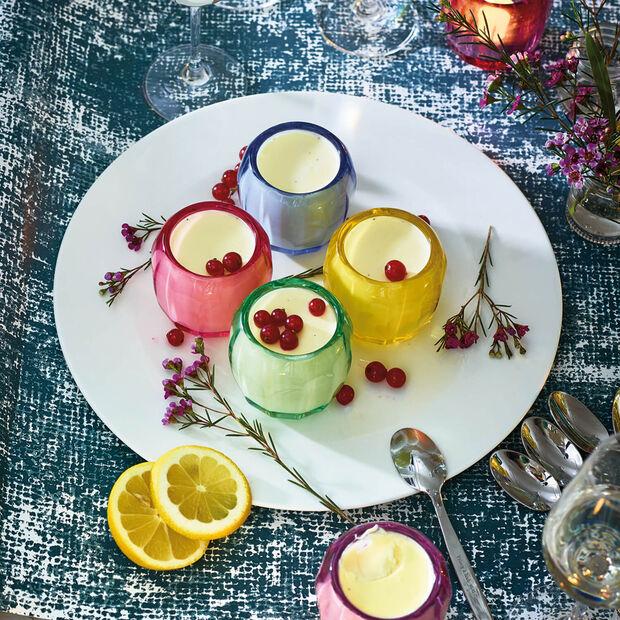 Coloured DeLight petit support pour bougie chauffe-plat Noble Rose, , large