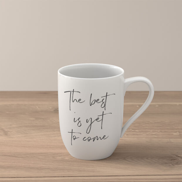 Statement mug «The best is yet to come», , large