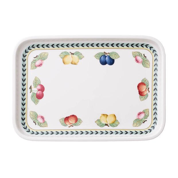 French Garden plats à gratin Plat à servir / Couvercle rectangulaire 32x22cm, , large