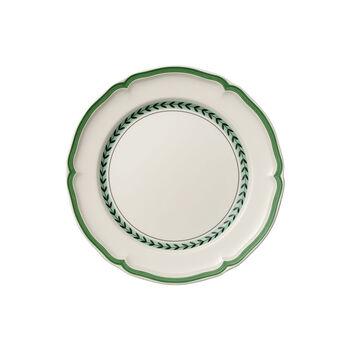 French Garden Green Line assiette plate