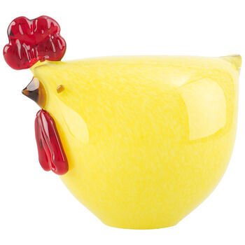 Special offer Poule jaune 17x15cm