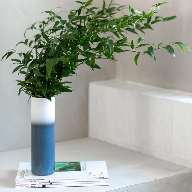 Lave Home Vase Cylinder, 7,5x7,5x25cm, Bleu, , large