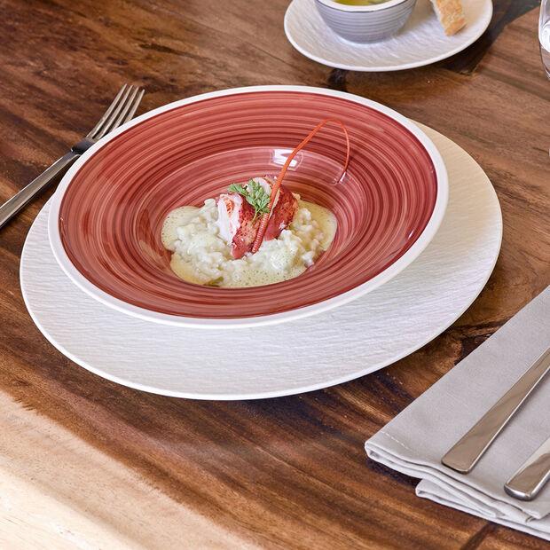 Manufacture Rock Blanc assiette plate, , large