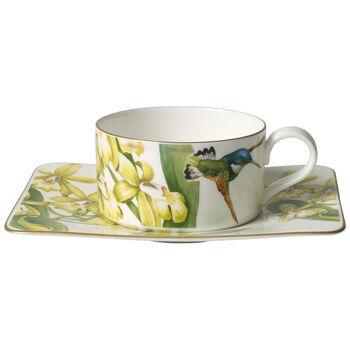 Amazonia Tasse à thé avec soucoupe 2pcs