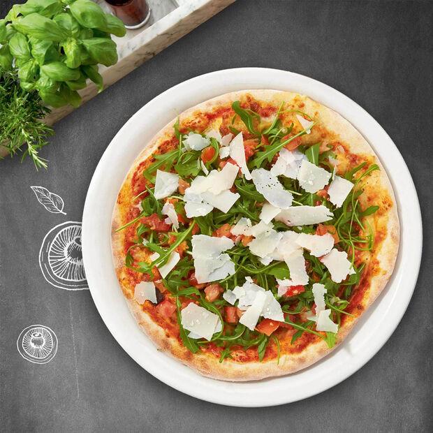 Vapiano ensemble de 2assiettes à pizza, , large