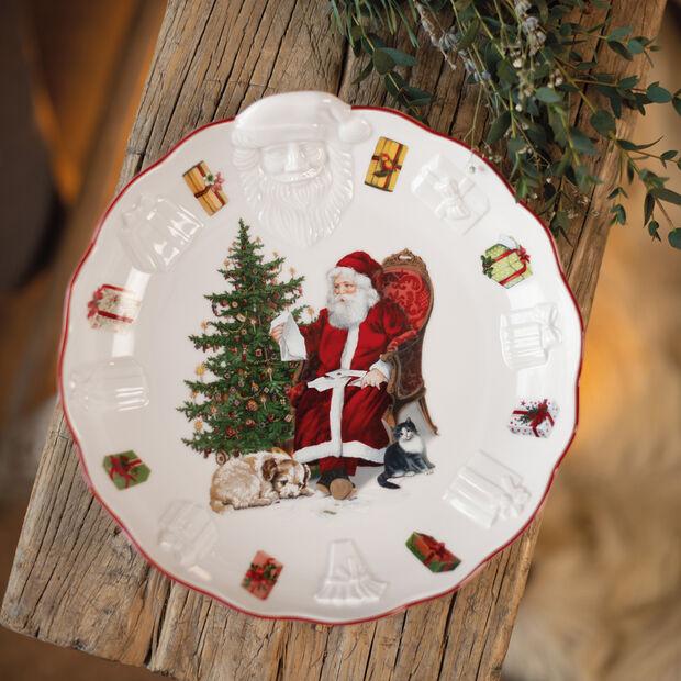 Toy's Fantasy Coupe avec Père Noël relief, 24x25x4,6cm, , large