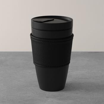 Manufacture Rock mug Coffee To Go, 350ml, noir mat