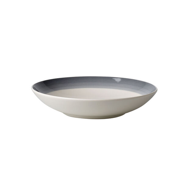 Colourful Life Cosy Grey coupe plate, , large