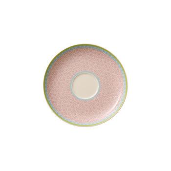 Rose Cottage Soucoupe tasse à thé pink