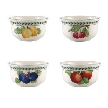 French Garden Modern fruits ensemble de 4bols