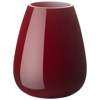 Drop mini-vase Deep Cherry