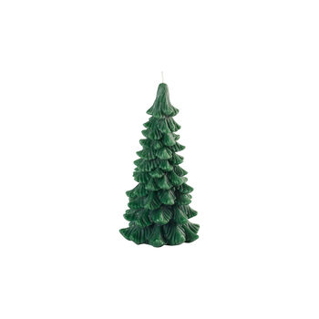 Winter Collage Accessoires bougie sapin M 17,5cm
