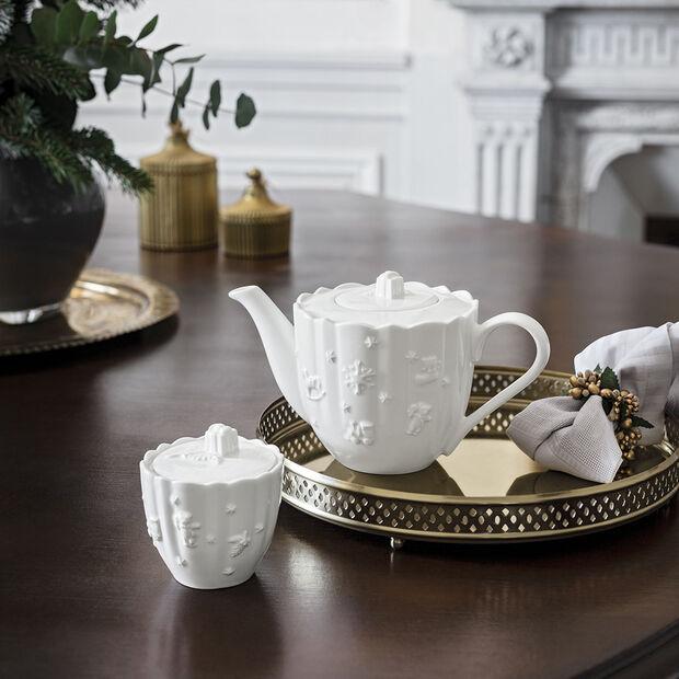 Toy's Delight Royal Classic cafetière, blanche, 1l, , large