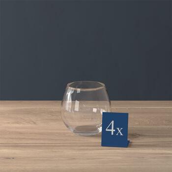 Entrée verre à eau, 570ml, 4pièces