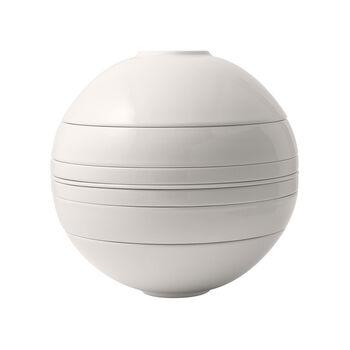 Iconic La Boule white, blanche
