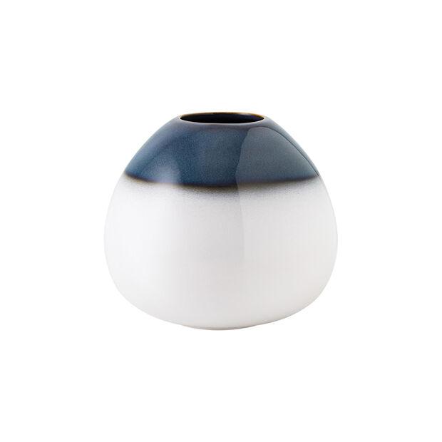Lave Home Vase Egg Shape, 14,5x14,5x13cm, Bleu, , large