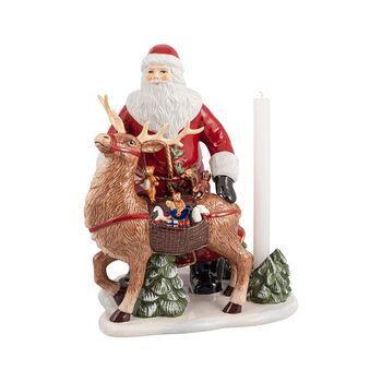 Christmas Toys Memory Père Noël avec cerf, 30x24x35cm