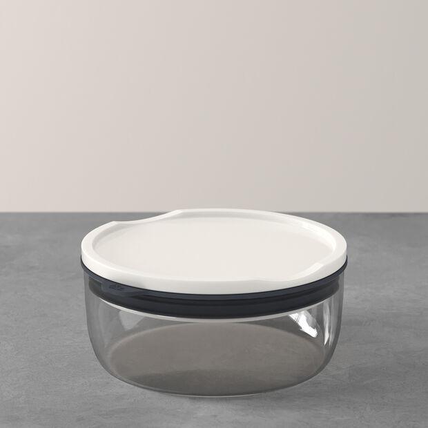 ToGo&ToStay boîte à repas, 13x6cm, ronde, grise, , large