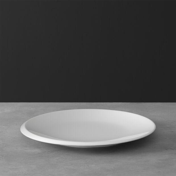 NewMoon assiette plate, 27cm, blanche, , large