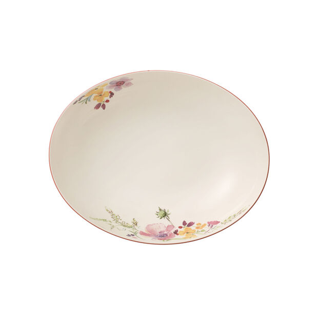 Mariefleur Basic plat creux à servir ovale 26cm, , large