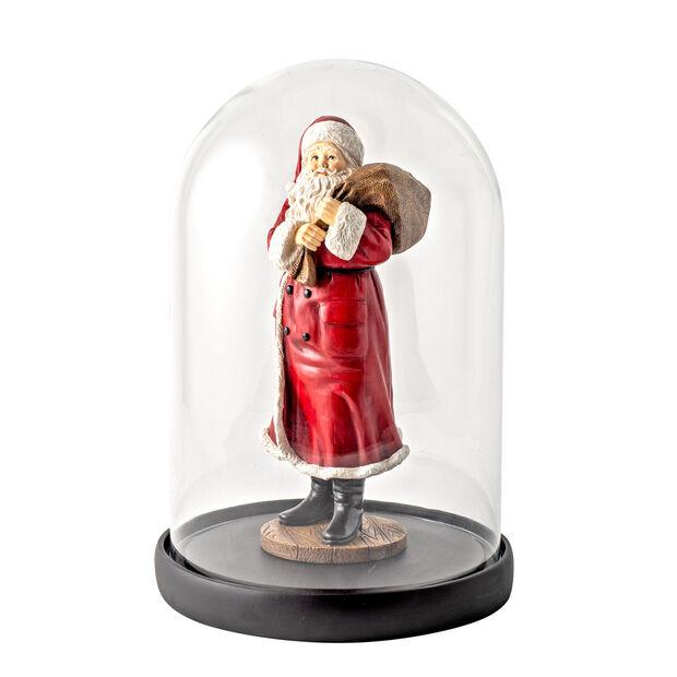 Winter Collage Accessoires Père Noël Bell avec sac et ours 10,2x10,2x26,4cm, , large