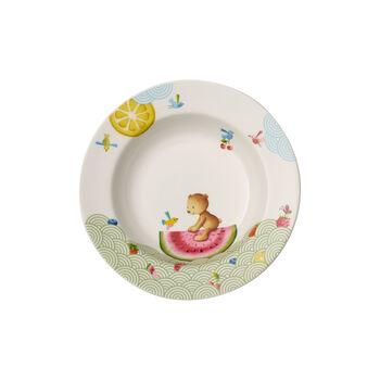 Hungry as a Bear Assiette creuse pour enfants 195mm
