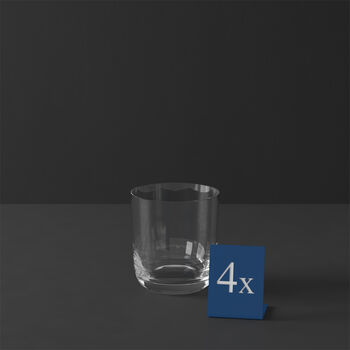 La Divina verre à whisky, 4pièces