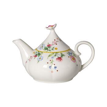 Spring Awakening tea and coffee pot, yellow/multicoloured