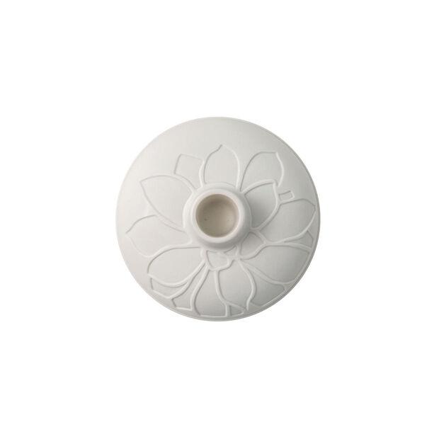 it's my home bougeoir Socculent, 12x7cm, blanc, , large