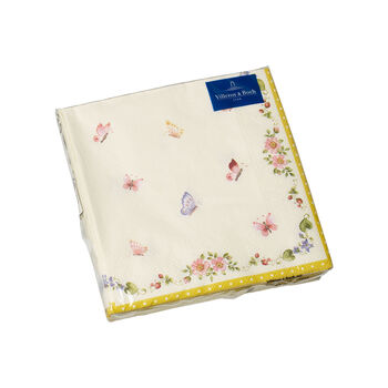 Easter Accessories serviettes de table, papillon, 25x25cm, 20pièces