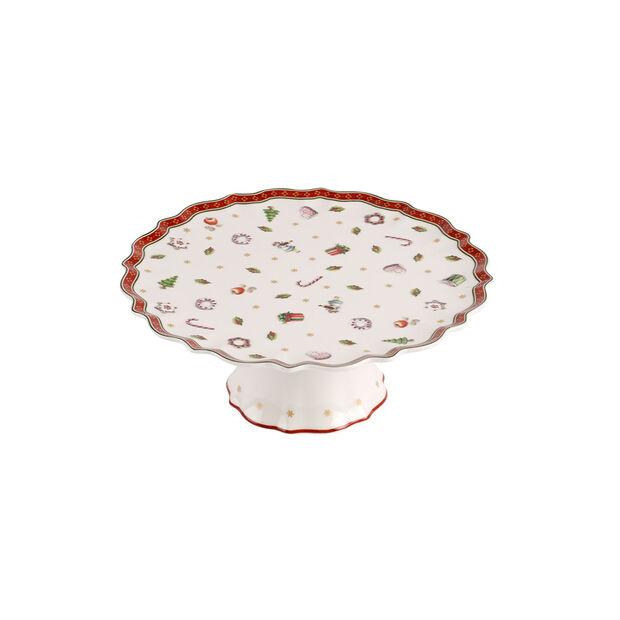 Toy's Delight petit plat à gâteau sur pied, , large