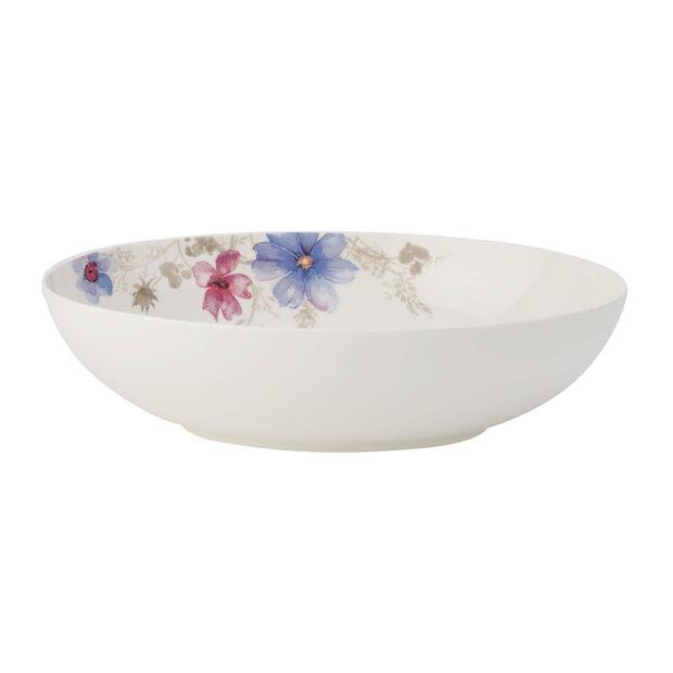 Mariefleur Gris Basic plat à servir ovale, , large