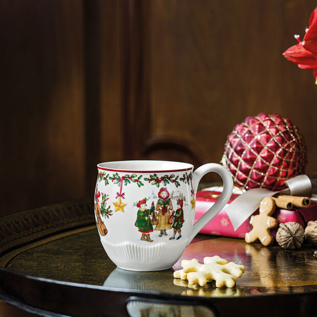 Toy's Fantasy grand mug à café motif enfants, rouge/multicolore, 530ml, , large