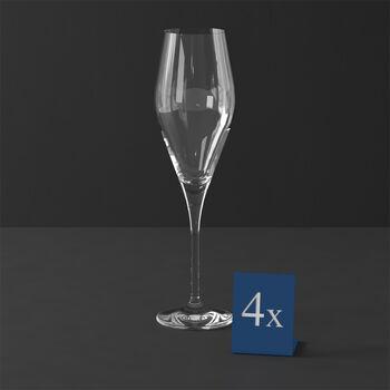 La Divina flûte à champagne, 4pièces