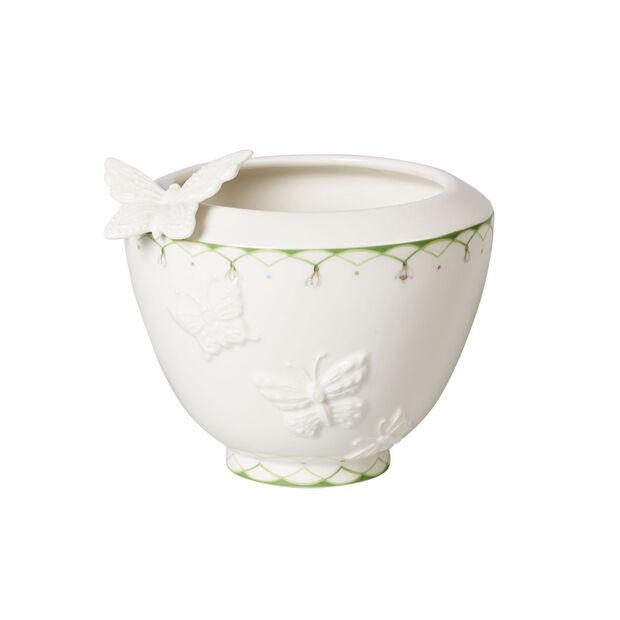 Colourful Spring petit vase, blanc/vert, , large