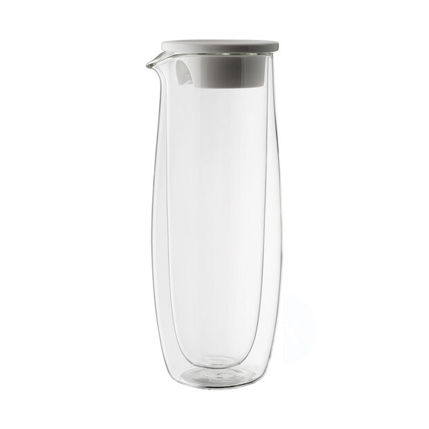 Artesano Hot&Cold Beverages Carafe en verre avec couvercle, , large