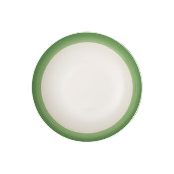 Colourful Life Green Apple coupe plate