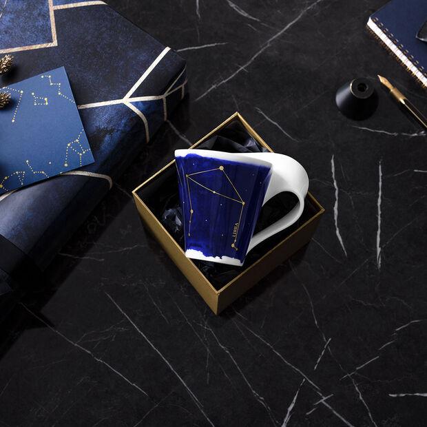 NewWave Stars mug balance, 300ml, bleu/blanc, , large